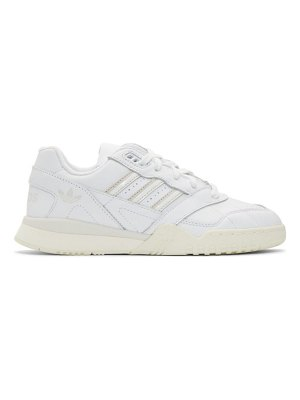 adidas Originals white and  ar trainer sneakers