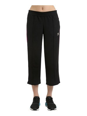 adidas Originals Wide leg capri track pants