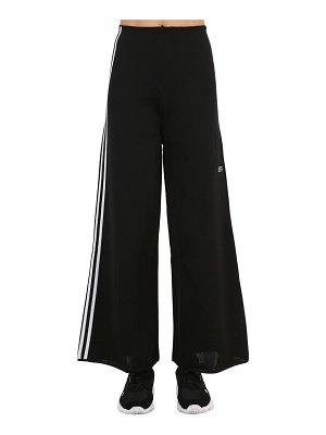 adidas Originals Wide leg techno track pants