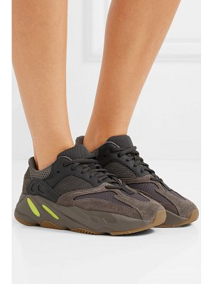adidas Originals yeezy 700 leather, suede and mesh sneakers