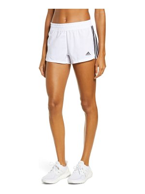 Adidas pacer 3-stripes climalite knit shorts
