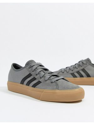 Adidas Skateboarding adidas skate boarding matchcourt rx sneakers with gum sole