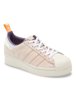 Adidas x girls are awesome energy superstar plateau sneaker