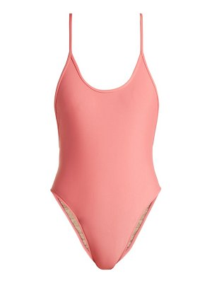 ADRIANA DEGREAS Le Fleur high-leg swimsuit