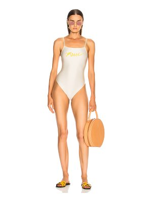 ADRIANA DEGREAS Muse High Leg Swimsuit