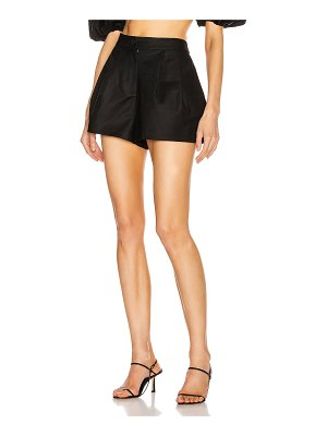 ADRIANA DEGREAS pleated shorts