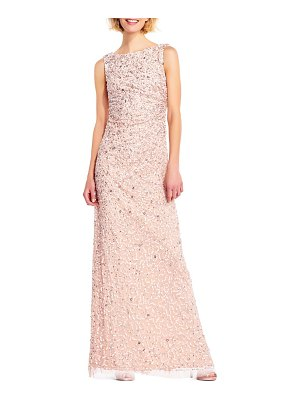 Adrianna Papell Bead Embellished Gown