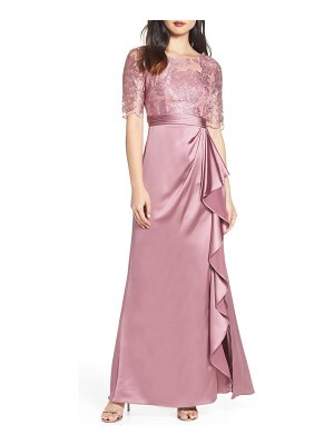 Adrianna Papell embroidered evening dress
