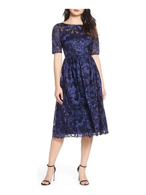 Adrianna Papell embroidered party dress
