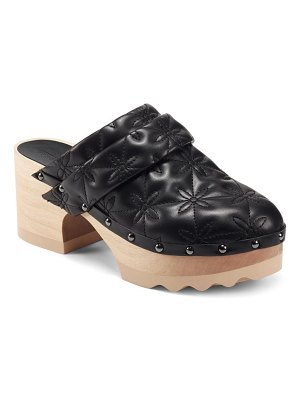 Aerosoles x laura ashley pedro quilted faux leather clog