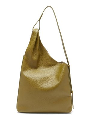 AESTHER EKME lune grained-leather shoulder bag