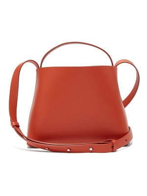AESTHER EKME mini leather cross body bag
