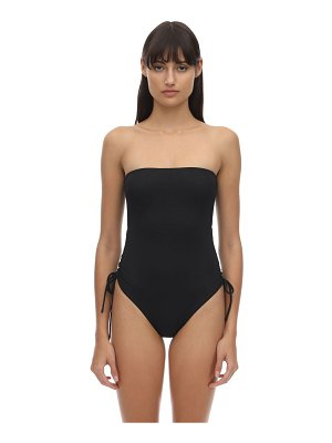 AEXAE Gathered lycra one-piece swimsuit