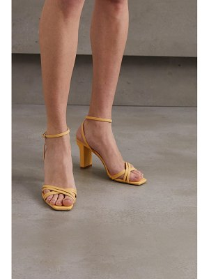 aeyde annabella leather sandals