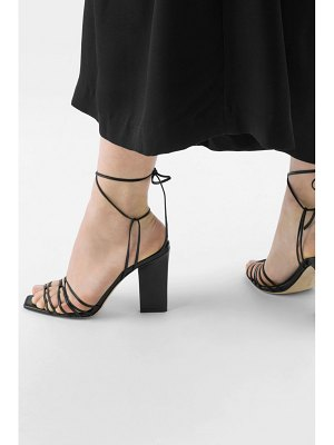 aeyde daisy leather sandals
