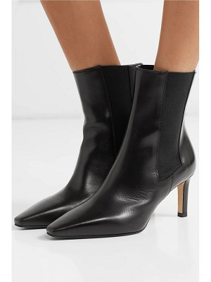 aeyde leila leather ankle boots