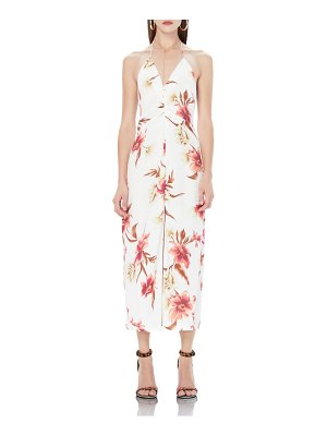 AFRM cherry halter midi dress