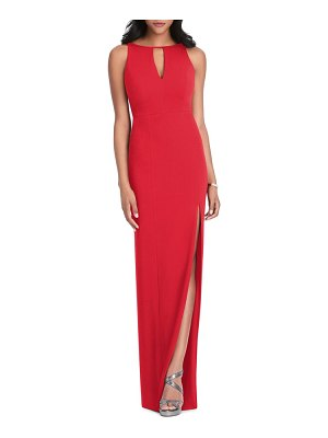 After Six stretch crepe gown