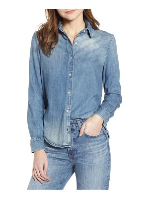 AG Adriano Goldschmied cade chambray shirt