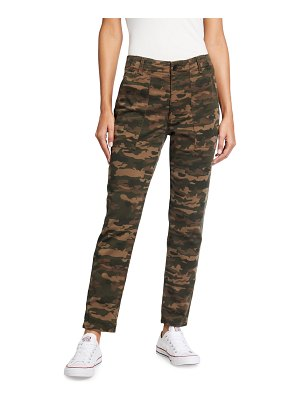 AG Adriano Goldschmied Caden Camo-Print Trousers