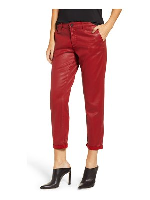 AG Adriano Goldschmied caden crop twill trousers