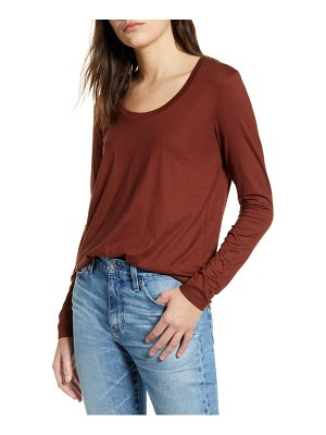 AG Adriano Goldschmied cambria long sleeve tee