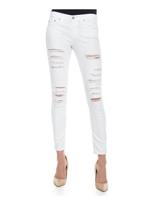 AG Adriano Goldschmied Distressed Skinny Ankle Jeans