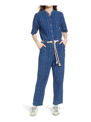 AG Adriano Goldschmied emery rope belt cotton jumpsuit