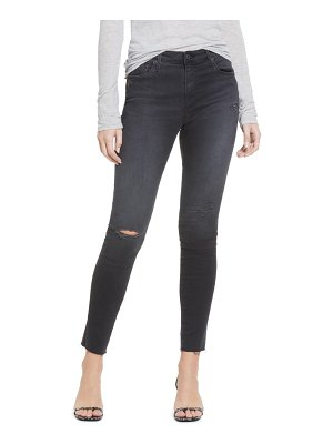 AG Adriano Goldschmied farrah ripped high waist ankle skinny jeans