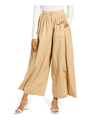 AG Adriano Goldschmied hadley high waist pleated culotte pants