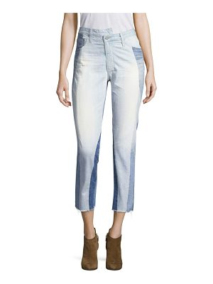 AG Adriano Goldschmied isabelle hi-rise straight crop jeans