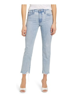 AG Adriano Goldschmied isabelle high waist ankle straight leg jeans