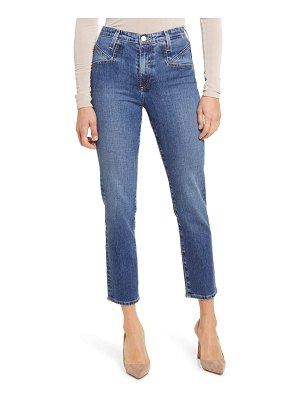 AG Adriano Goldschmied isabelle high waist seamed ankle jeans