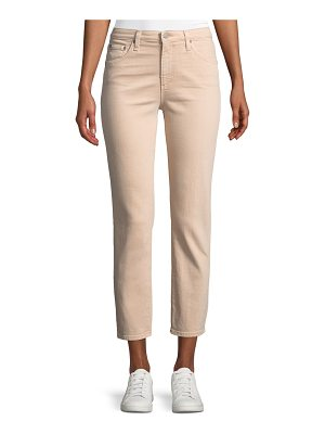 AG Adriano Goldschmied Isabelle Cropped Straight-Leg Jeans