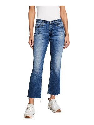 AG Adriano Goldschmied Jodi High-Rise Crop Flare Jeans