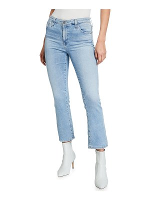 AG Adriano Goldschmied Jodi High-Rise Slim Flare Crop Jeans