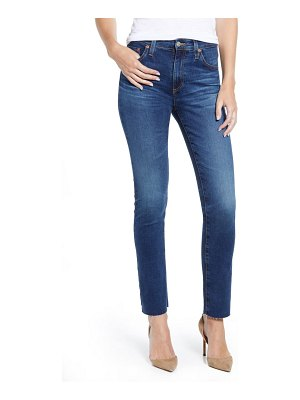 AG Adriano Goldschmied mari high waist ankle slim straight leg jeans
