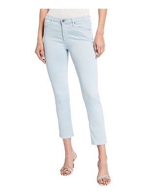 AG Adriano Goldschmied Prima Mid-Rise Cigarette Crop Jeans