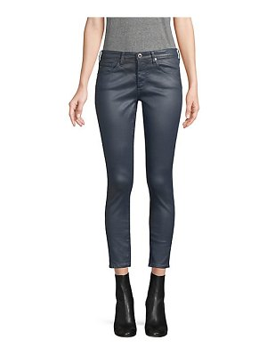 AG Jeans coated ankle legging pants