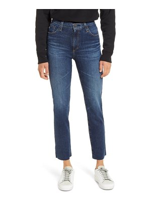AG Adriano Goldschmied the isabelle ankle straight leg jeans