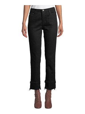 AG Adriano Goldschmied The Isabelle High-Rise Straight Crop Jeans