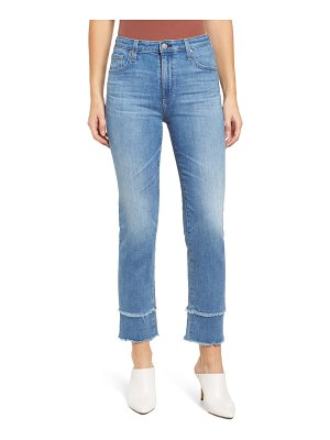 AG Adriano Goldschmied the isabelle high waist straight leg jeans