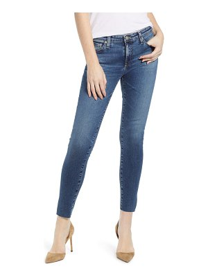 AG Adriano Goldschmied the legging raw hem ankle skinny jeans