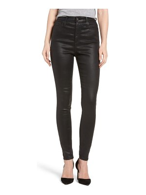 AG Adriano Goldschmied the mila super high waist skinny faux leather pants