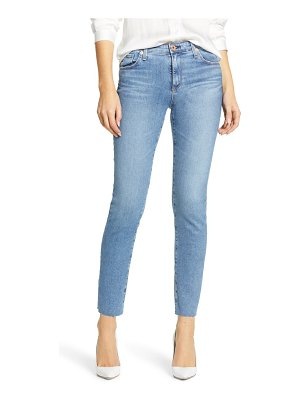 AG Adriano Goldschmied the prima raw hem ankle cigarette jeans