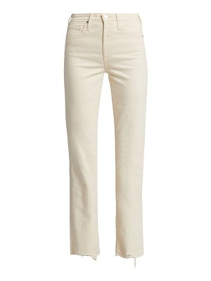 AG Jeans alexxis high-rise straight jeans
