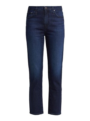 AG Jeans isabelle high-rise straight crop jeans