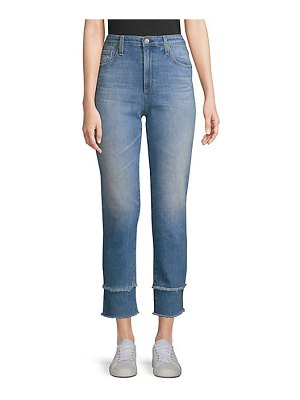AG Jeans isabelle straight-leg crop jeans