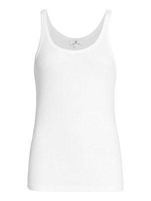 AG Jeans jagger fitted scoop tank top