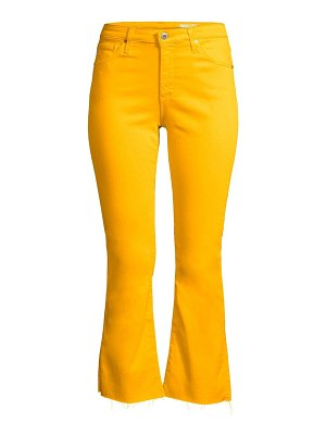 AG Jeans jodi high-rise crop flare jeans